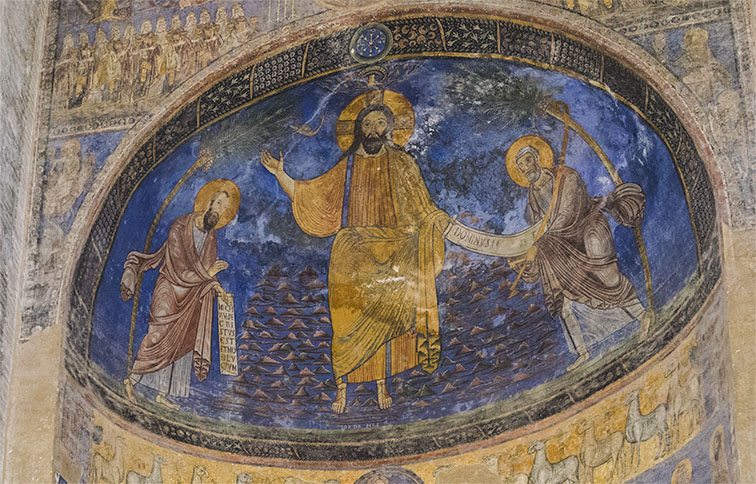 pano affresco dell'altare