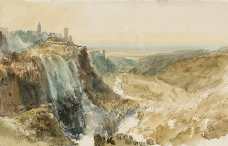 Turner - Acquerello di Tivoli